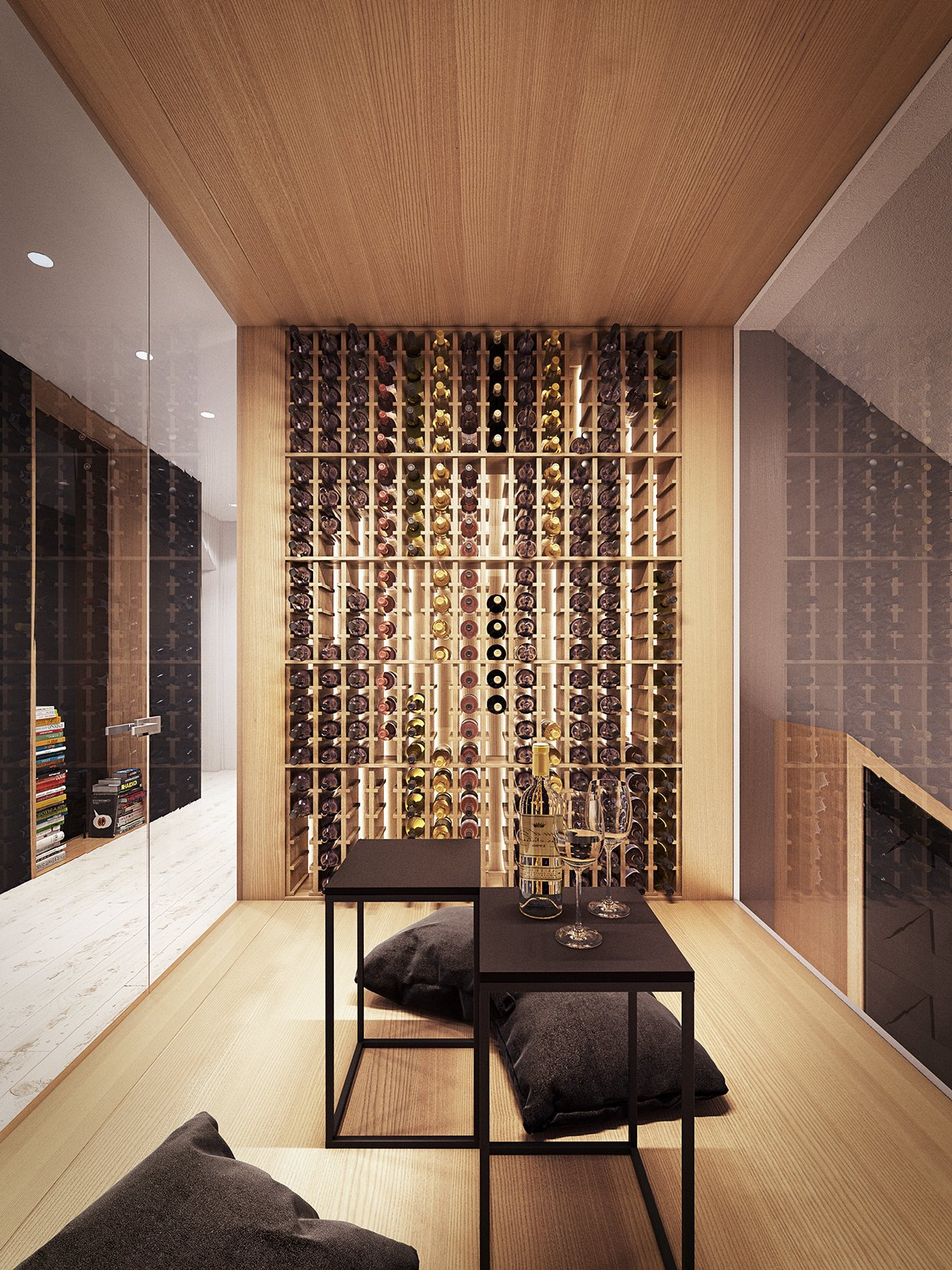 Wine cellar design interior design ideas for Architecture maison design