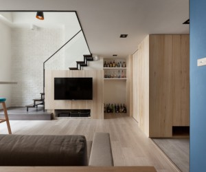 ... A Modern Loft With Character ...