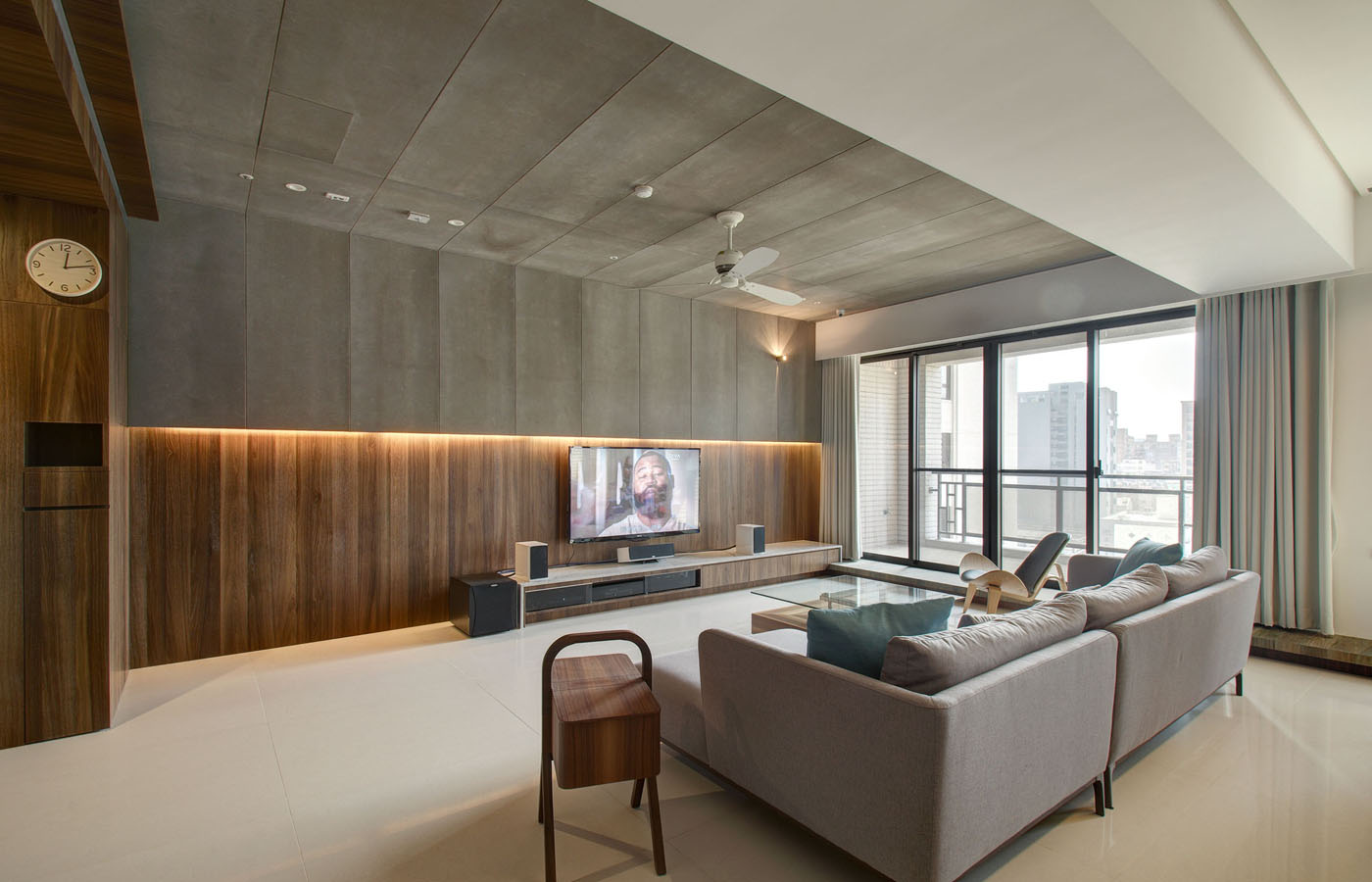 Modern apartment designs by phase6 design studio for Modern contemporary interior design