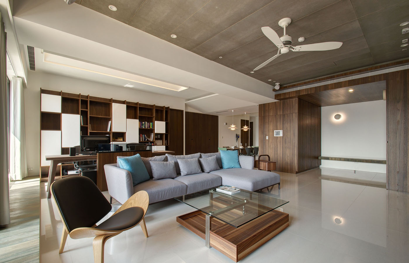 Modern apartment designs by phase6 design studio for Modern luxury apartment design
