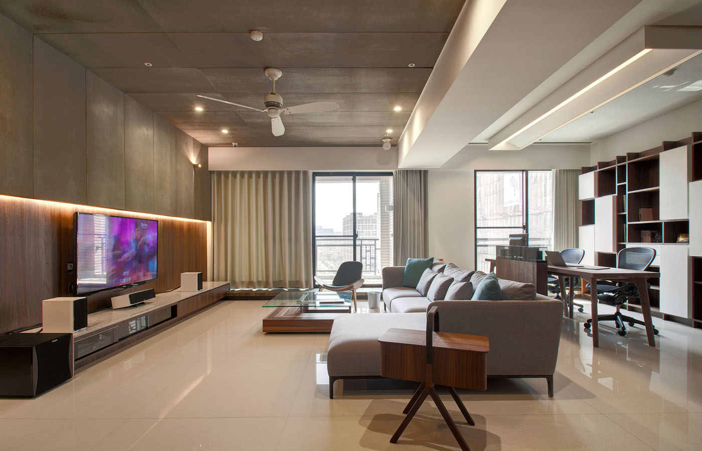 Modern apartment designs by phase6 design studio for Latest apartment designs