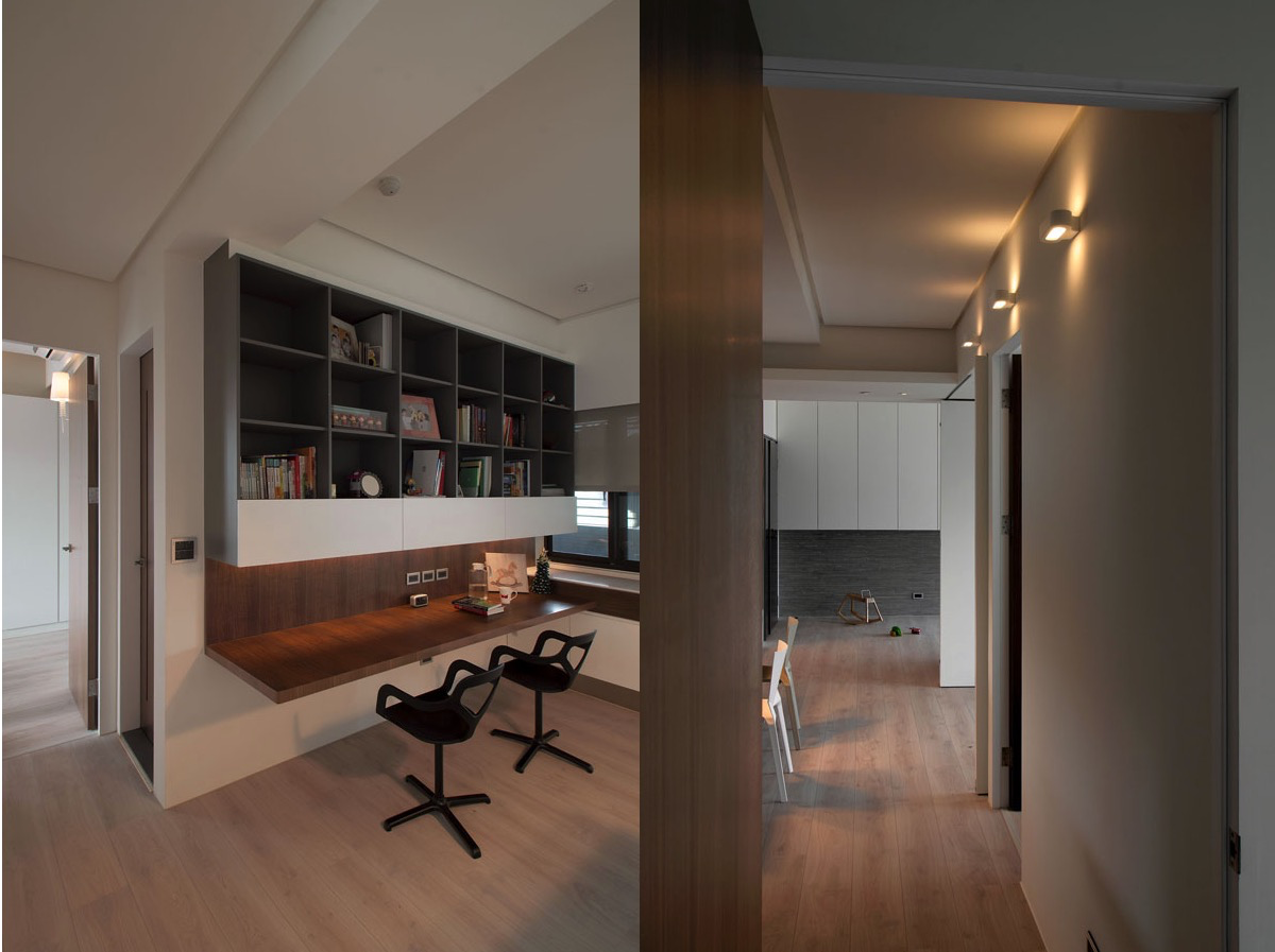 FAAB AD   AEBCDD - Modern apartment designs by phase6 design studio