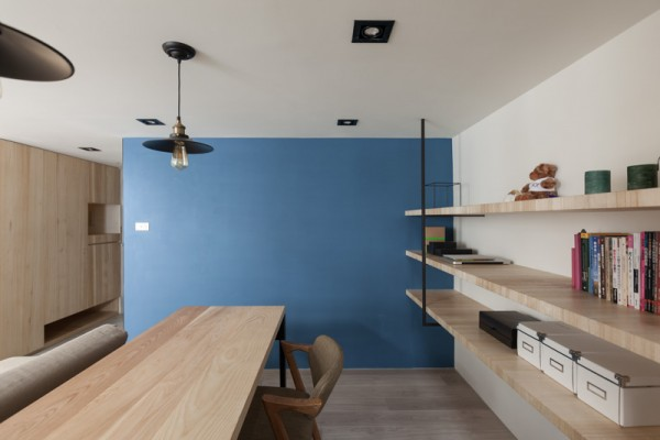 modern loft with character home designing