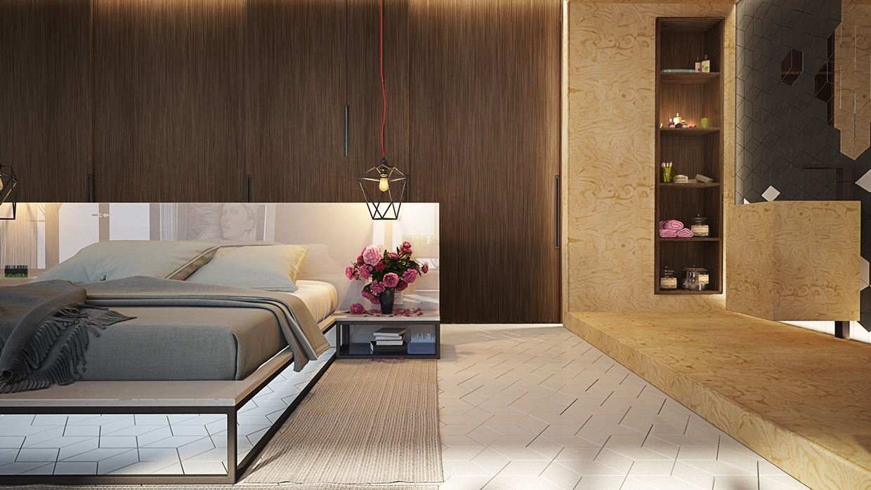8 creatively designed bedrooms in detail for Four bedroom design