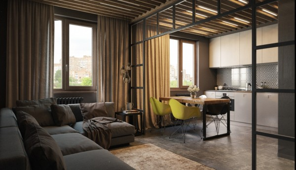 Measuring in at 65 square meters, this apartment may be small on footprint but large in style.