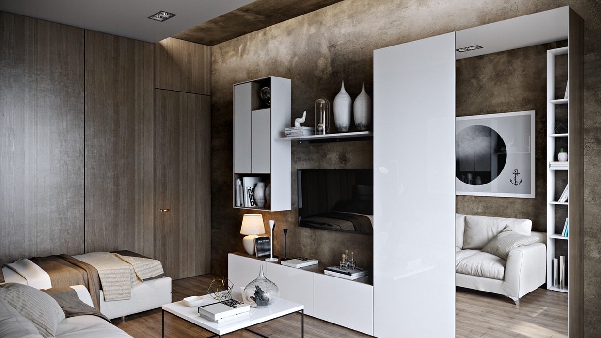 Modern Wood Paneling - Dark neutrals and clean lines unite six stylish homes