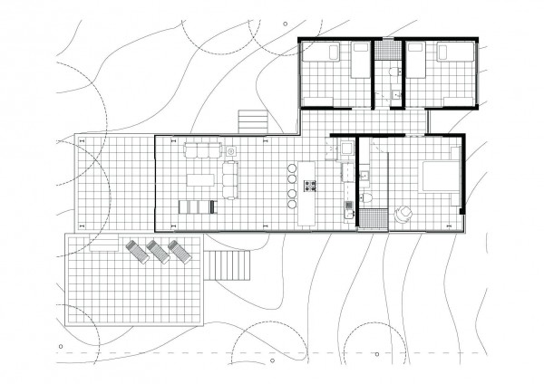 Planta casa no escala interior design ideas for Farnsworth house floor plan