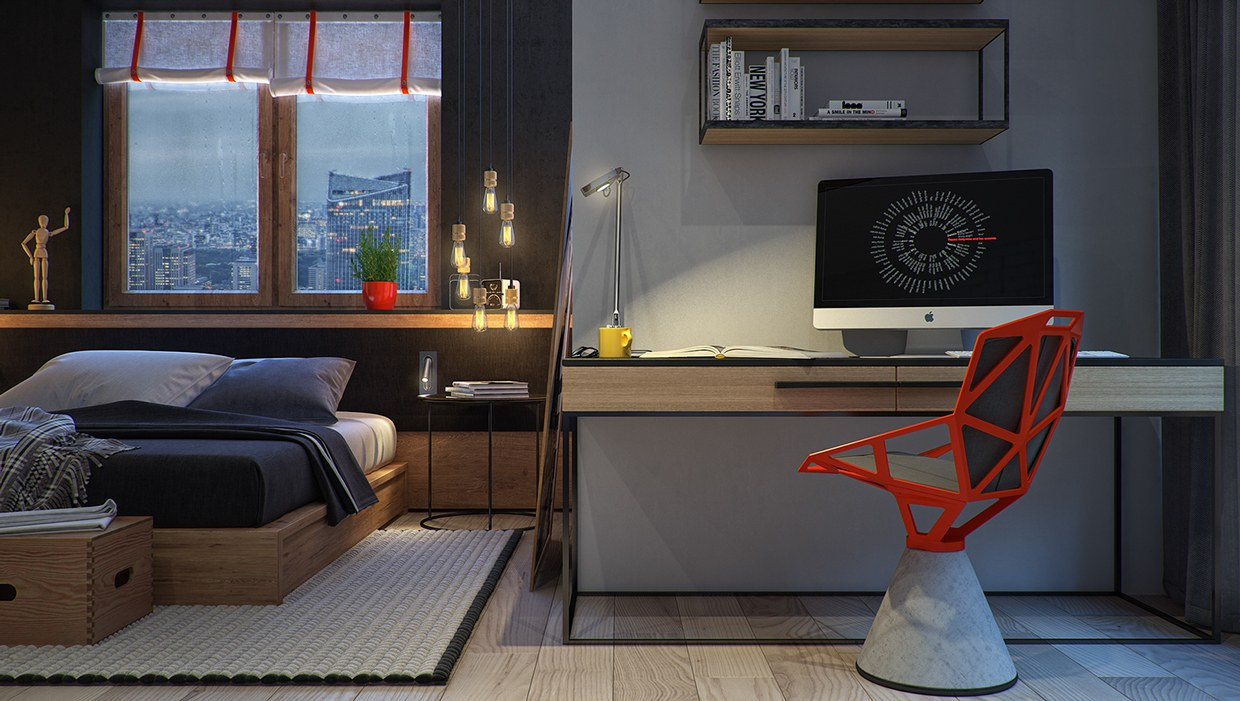 8 creatively designed bedrooms in detail. Black Bedroom Furniture Sets. Home Design Ideas