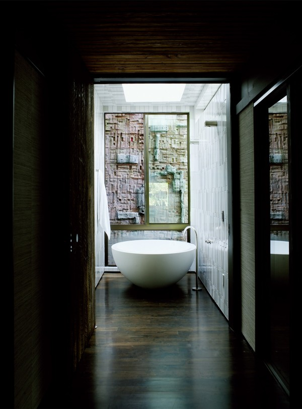 Attractive Round Basin Tub Four Sunny And Stunning California Interiors From Commune  Designs Round Basin