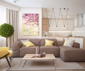 Inspirationally Modern Interiors From Pavel Voytov · Similarly Simple  Designs With A Bright And Cheerful Tone ...