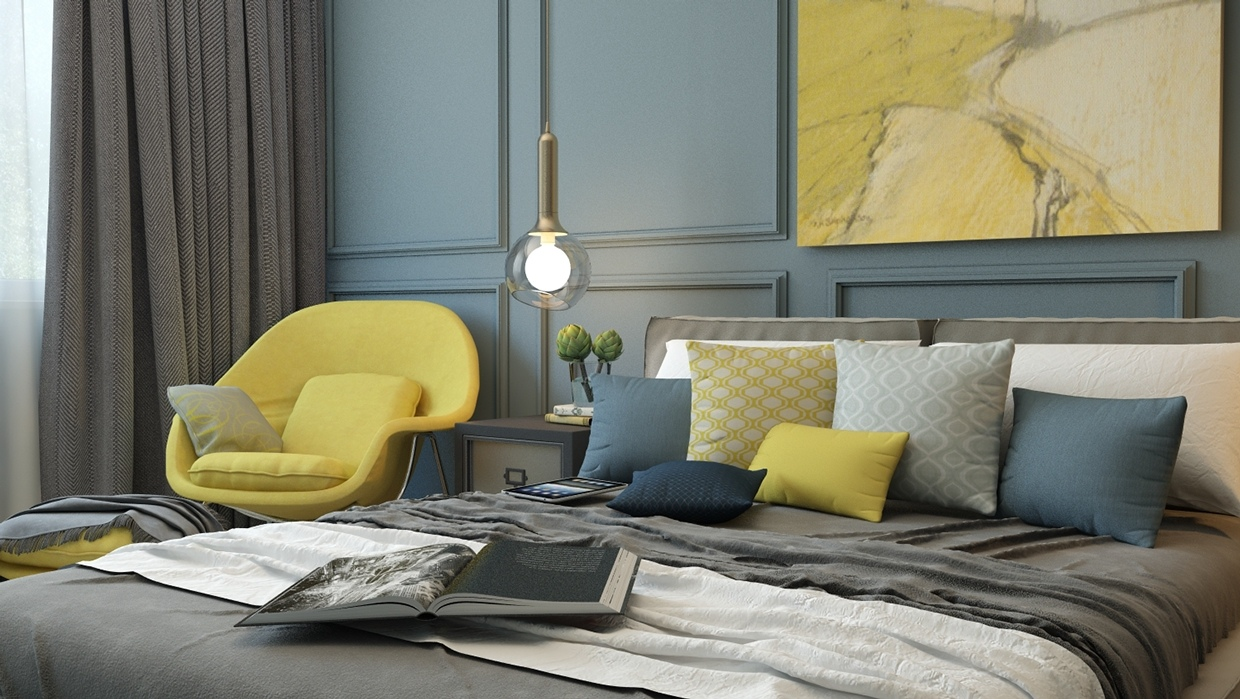 Teal Wall - 8 creatively designed bedrooms in detail