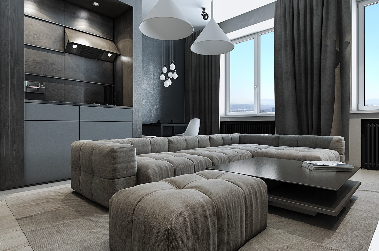 Ultra Simple Design - Dark neutrals and clean lines unite six stylish homes