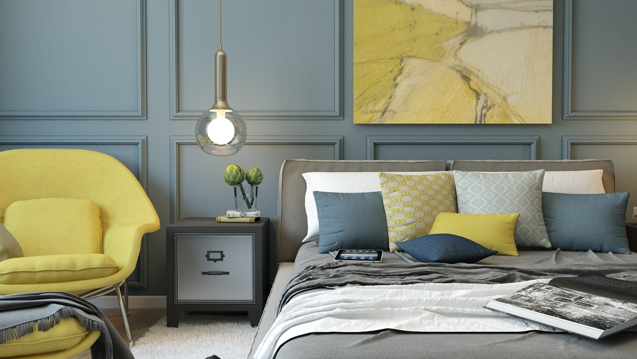 Yellow Chair - 8 creatively designed bedrooms in detail