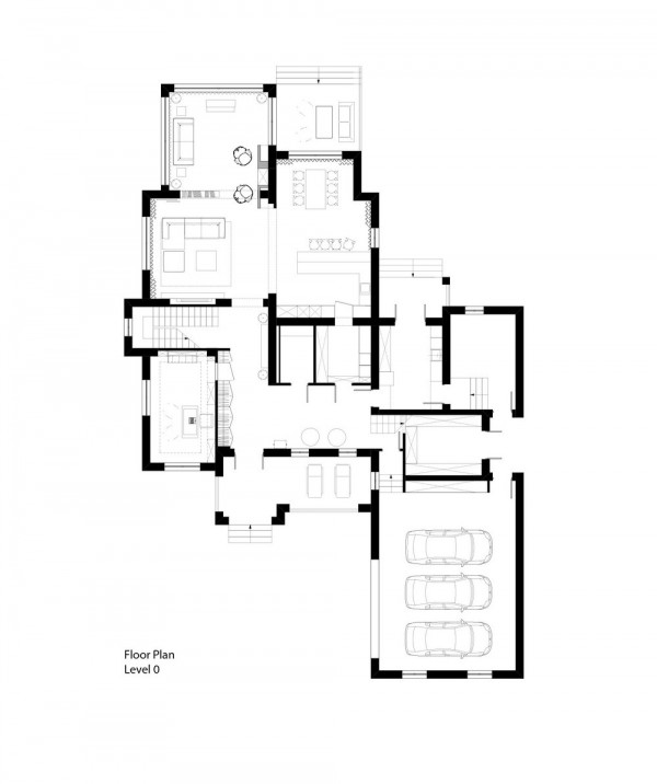 A heavenly 2 storey home under 500 square meters with for 500 square meters house design
