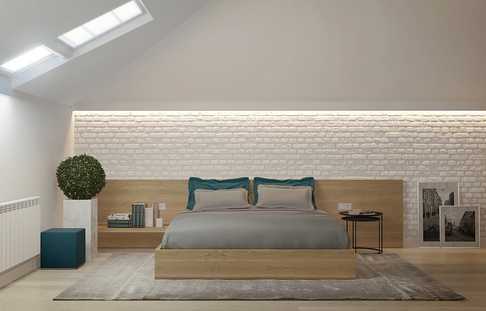 modern attic bedroom ideas - attic bedroom design