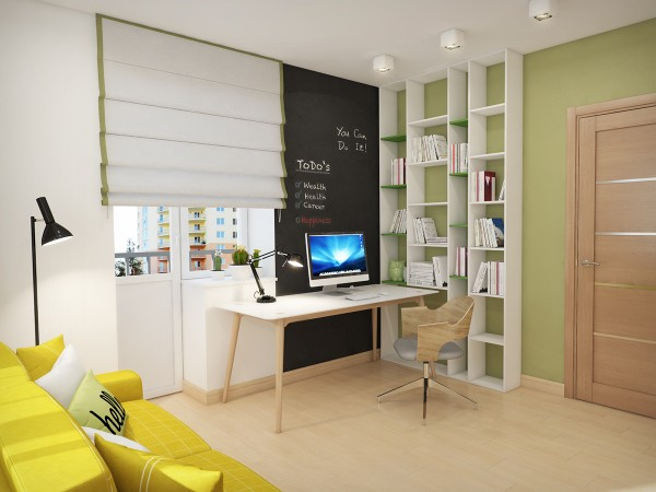 With the advent of the internet, most modern homes require a substantial home office. The design of this particular space fits nicely with the look of the rest of the home while still offering the necessities of a work space. It doesn't get too sterile but still has the feeling that you could get down to work.