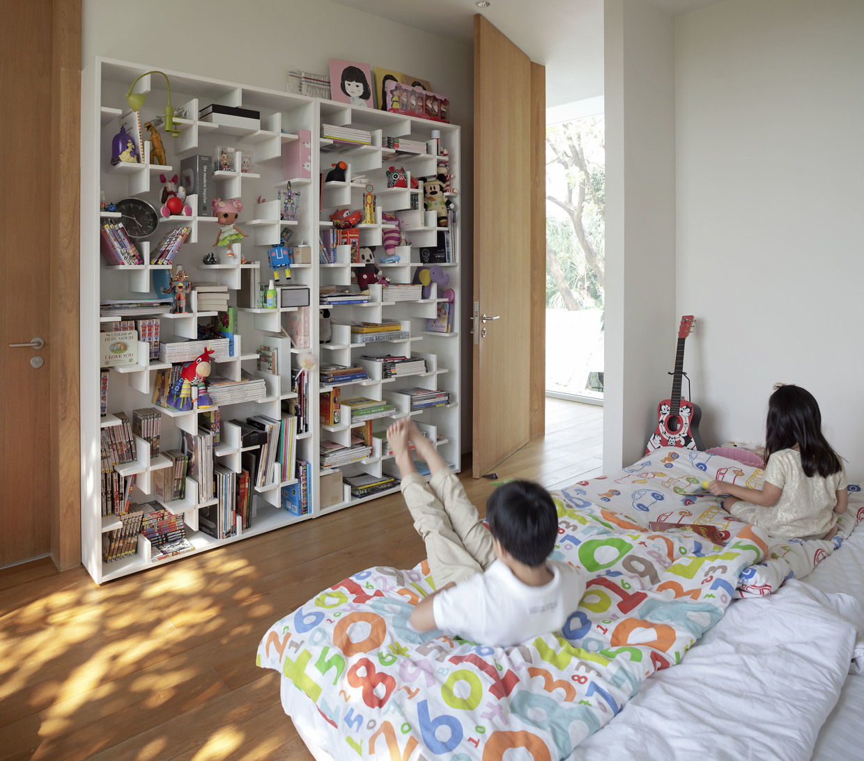 Creative kids room interior design ideas for Room layouts for bedrooms