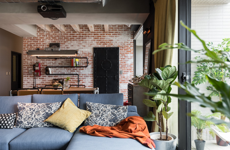 An Eclectic Loft Designed For Cats And Their Humans