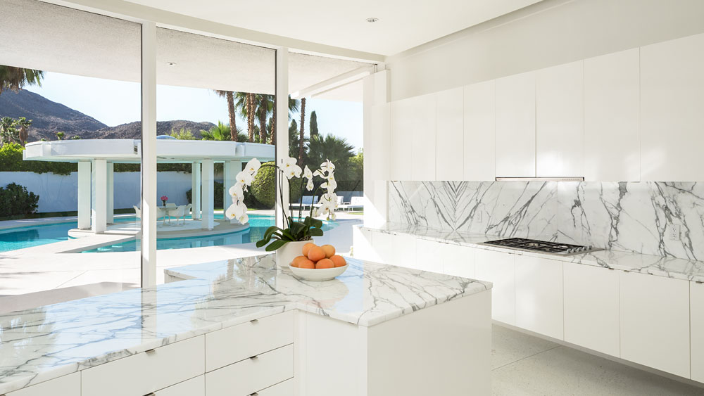 Granite Countertop - Luxury socal home celebrates the endless summer