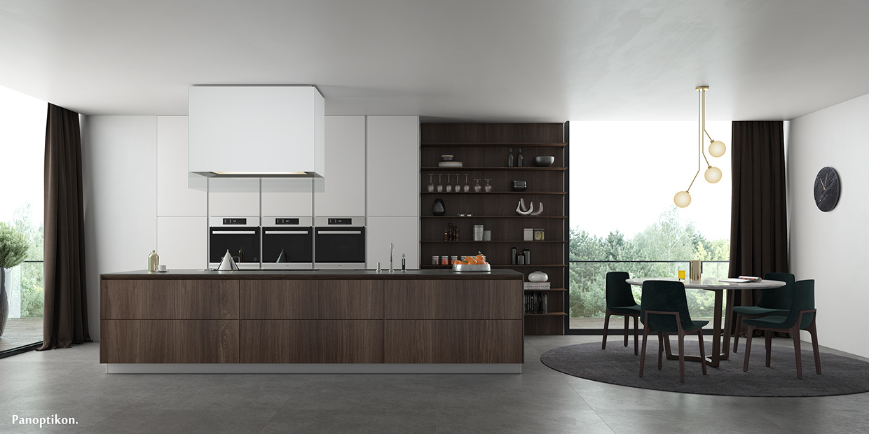 Sleek Kitchen Design Ideas ~ Sleek kitchen designs with a beautiful simplicity