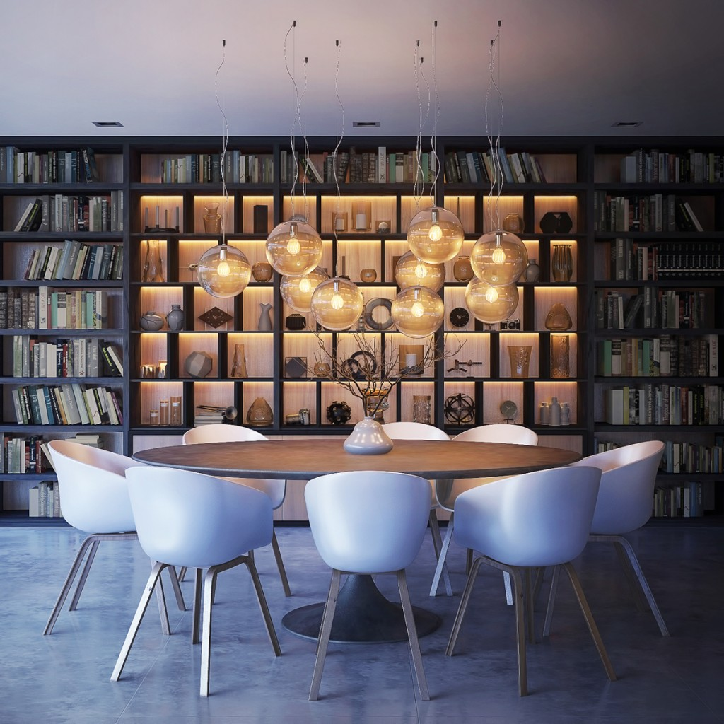 Take a Bite Out of 24 Modern Dining Rooms