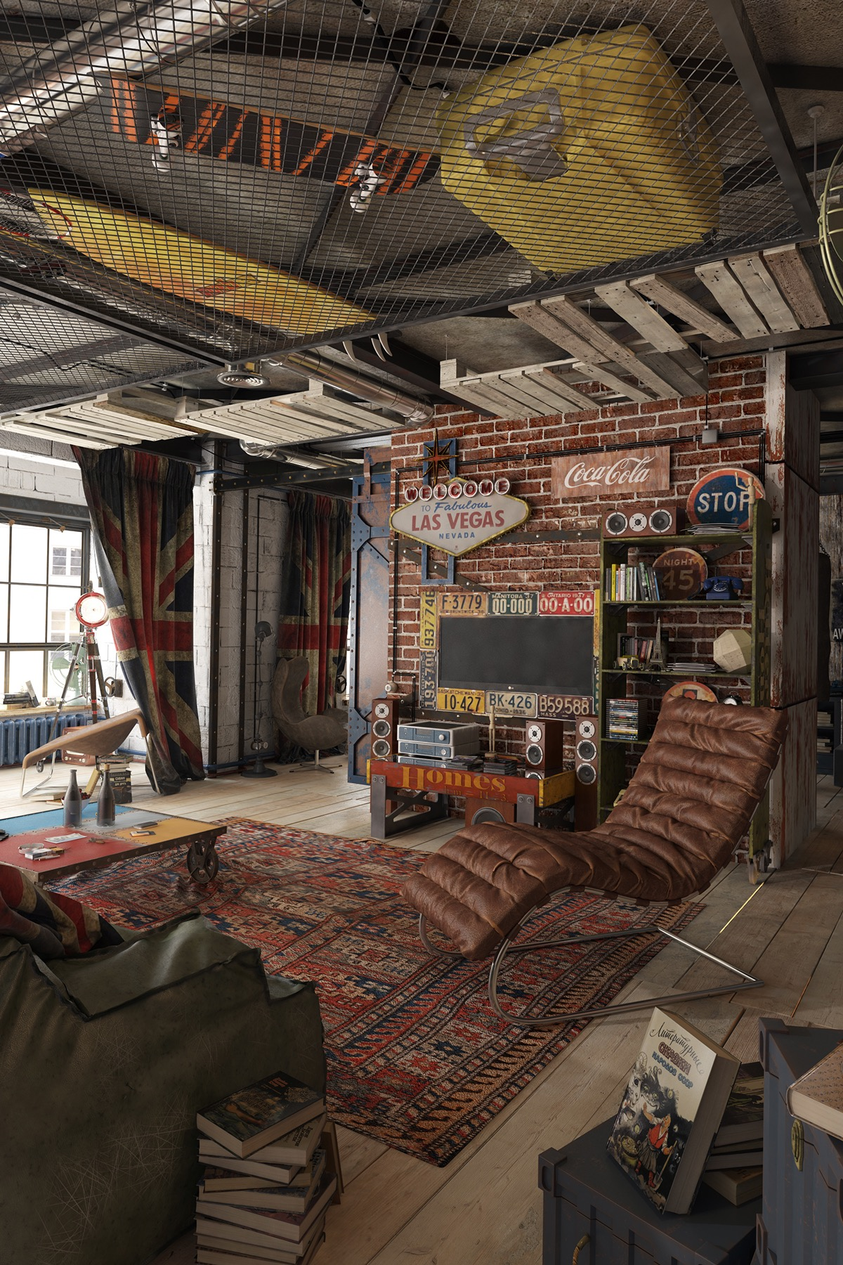 2 loft ideas for the creative artist for W loft