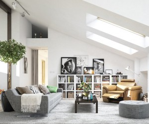 scandinavian living room design ideas inspiration - Interior Design Idea
