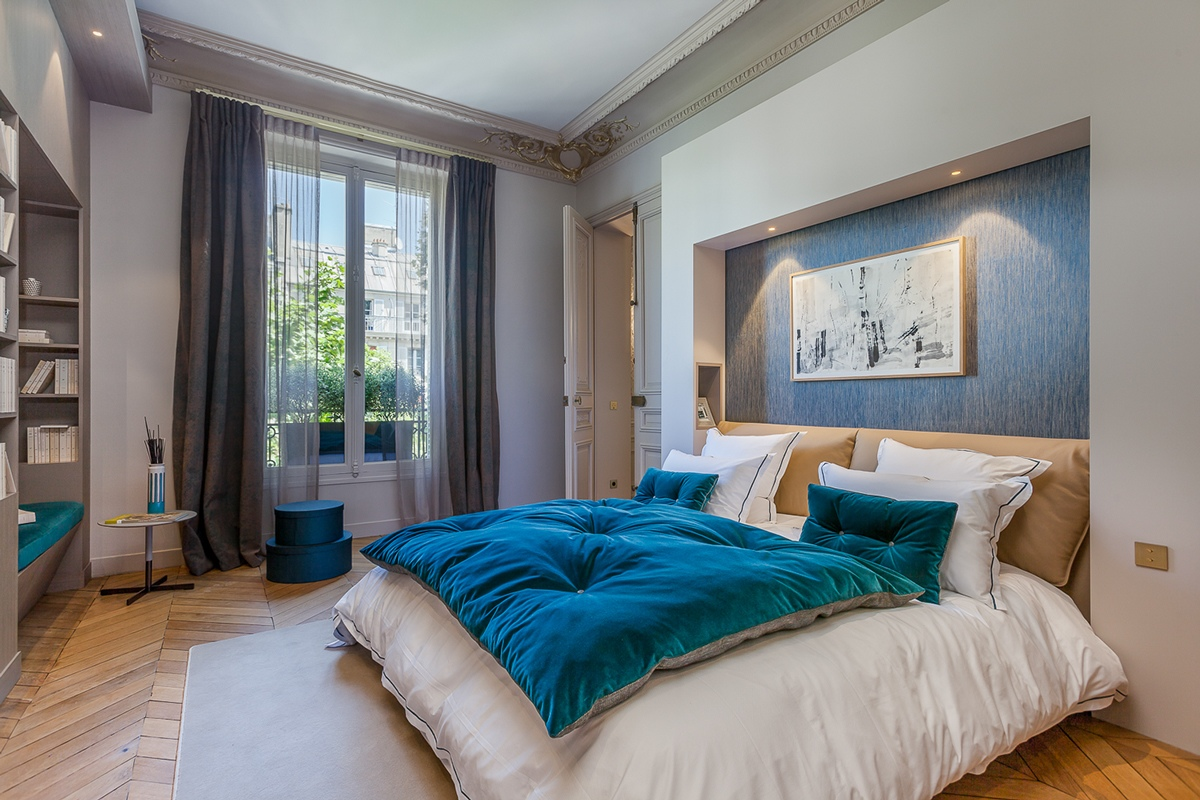 An intricate luxury apartment in the city of lights - Beautiful bedroom ...