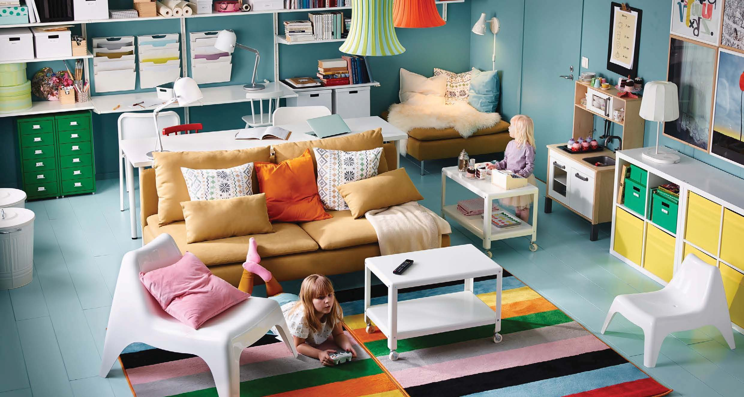 Ikea 2016 catalog for Kids living room furniture