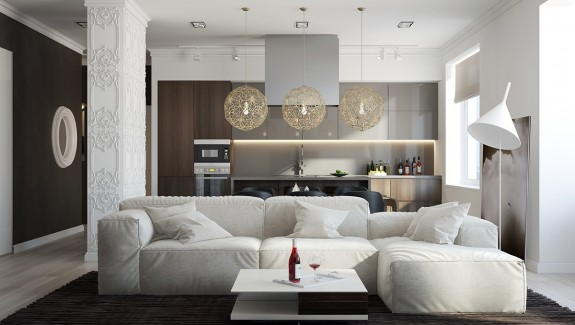 5 Spaces with Comfortable, Neutral Designs