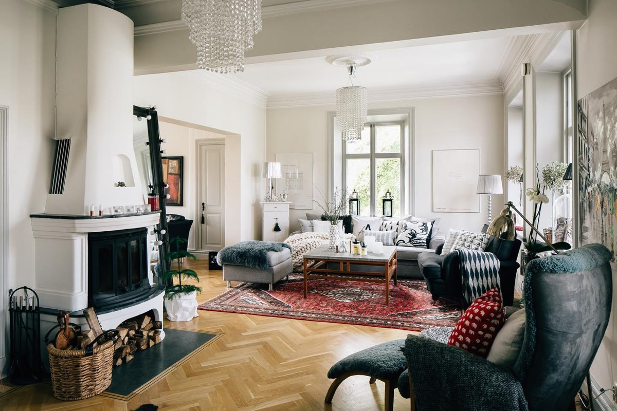 Scandinavian living room design ideas inspiration for Old style living room ideas