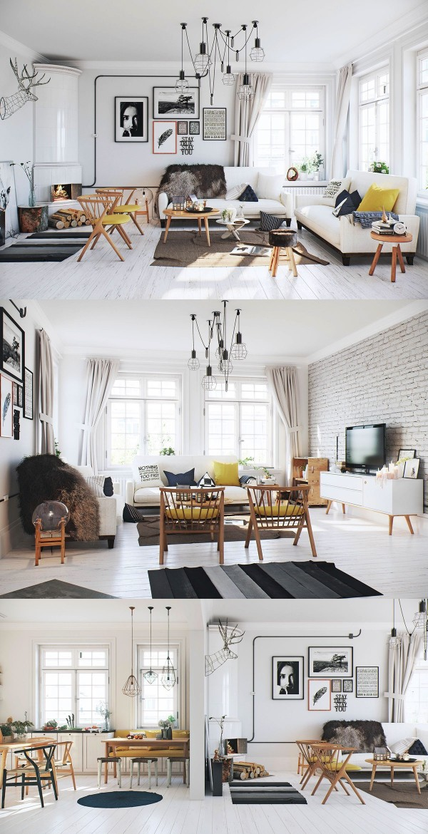 SCANDINAVIAN LIVING ROOM DESIGN: IDEAS U0026 INSPIRATION