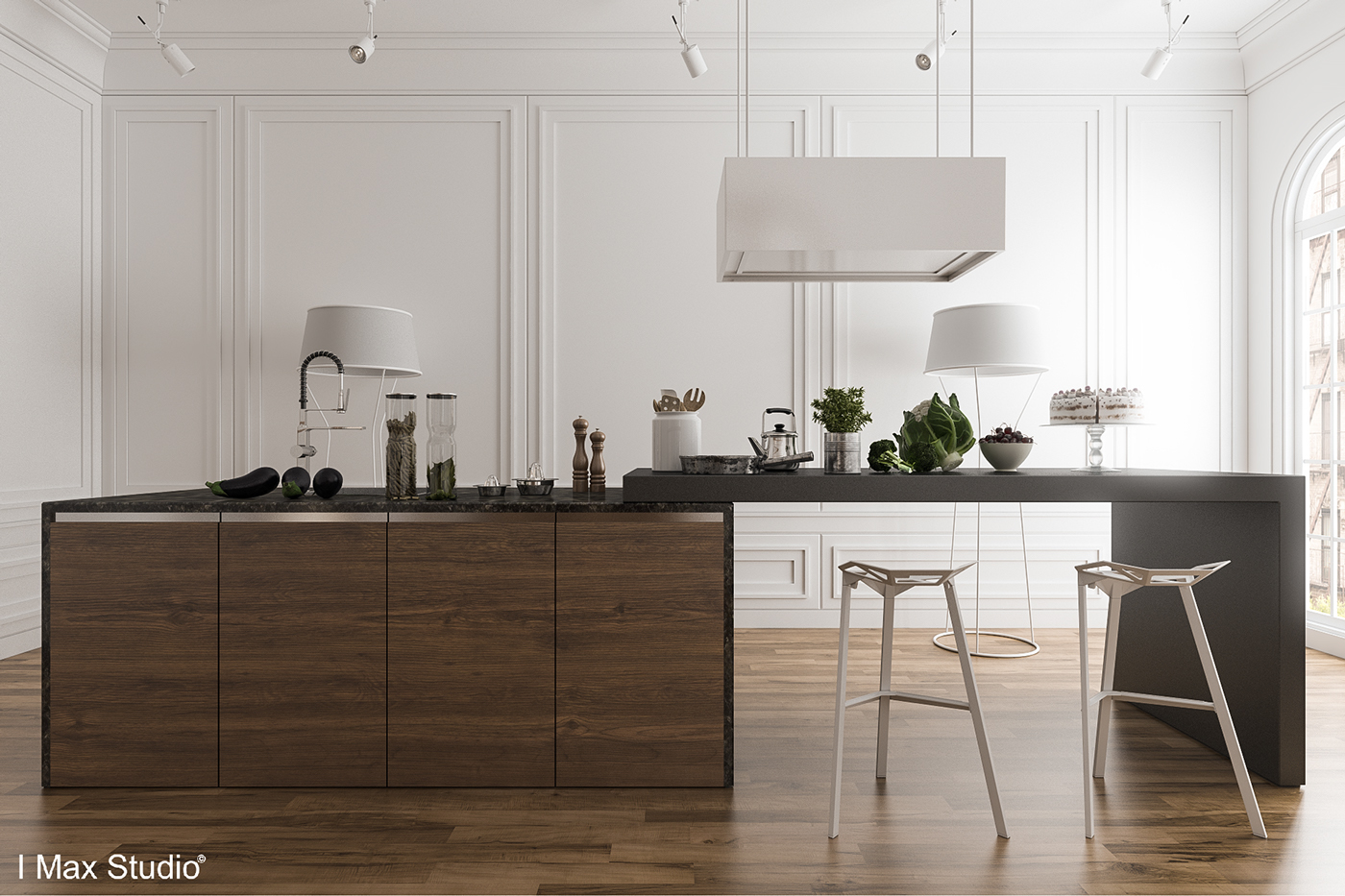 Modern Wood Kitchen black, white & wood kitchens: ideas & inspiration