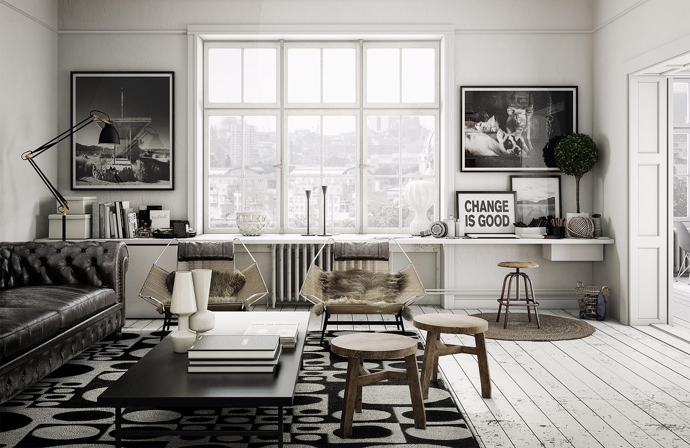 Scandinavian living room design ideas inspiration for Interior design inspiration