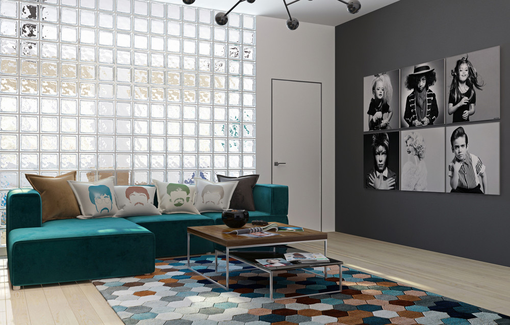 Interior design for musicians 2 music themed home designs for Inspiring living room designs