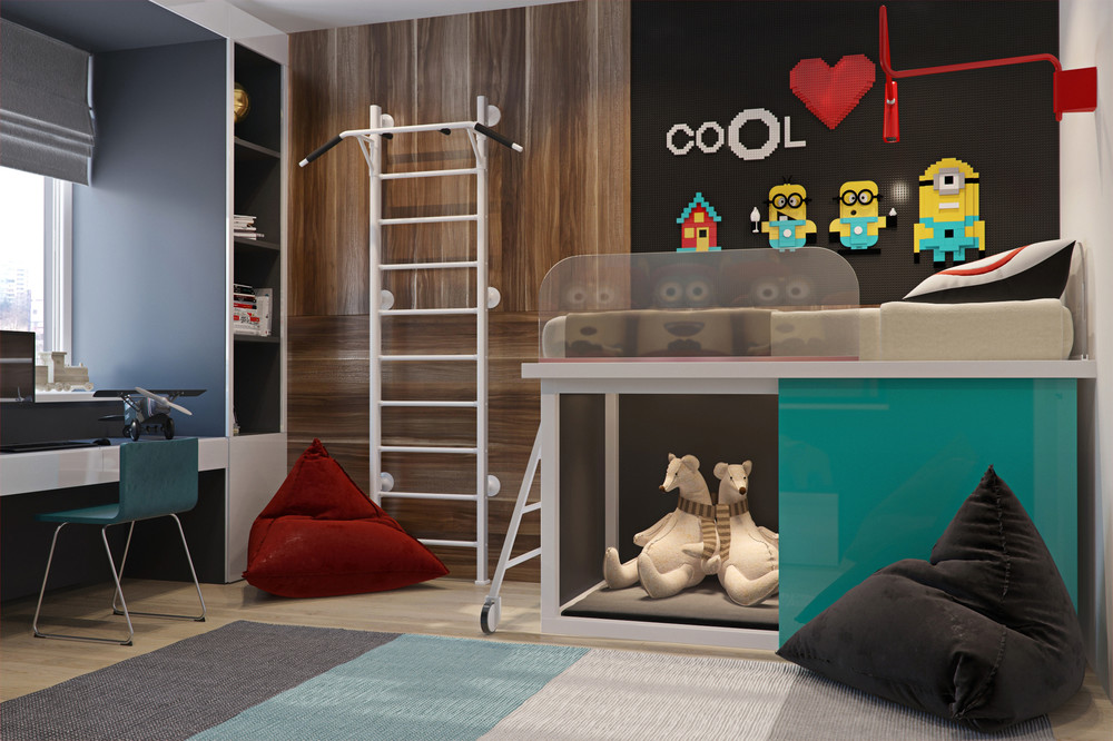 quirky-kids-room | Interior Design Ideas.