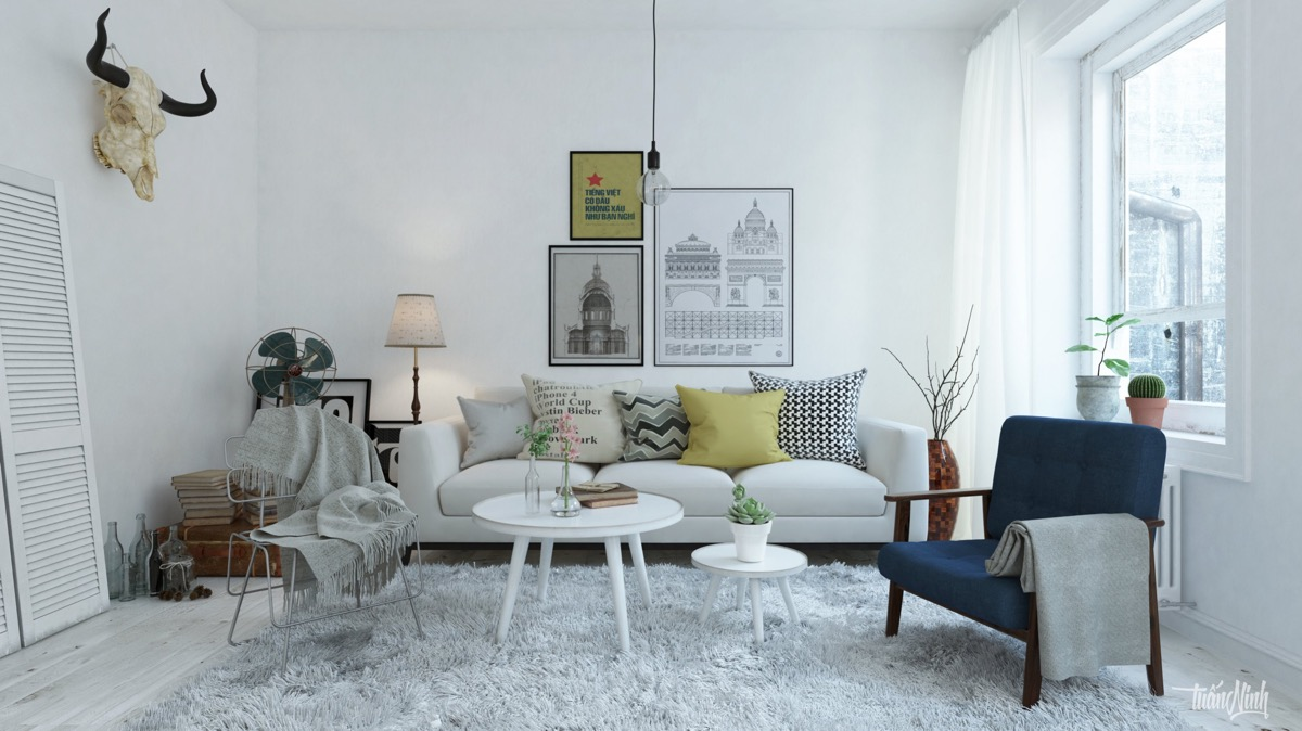 scandinavian living room design ideas \u0026 inspirationScandinavian Style Living Room #19