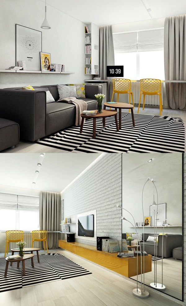 Home Design Ideas and Tips: striped rug