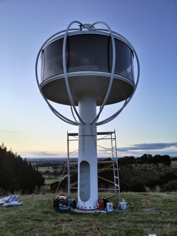 skysphere the ultimate solar powered man cave