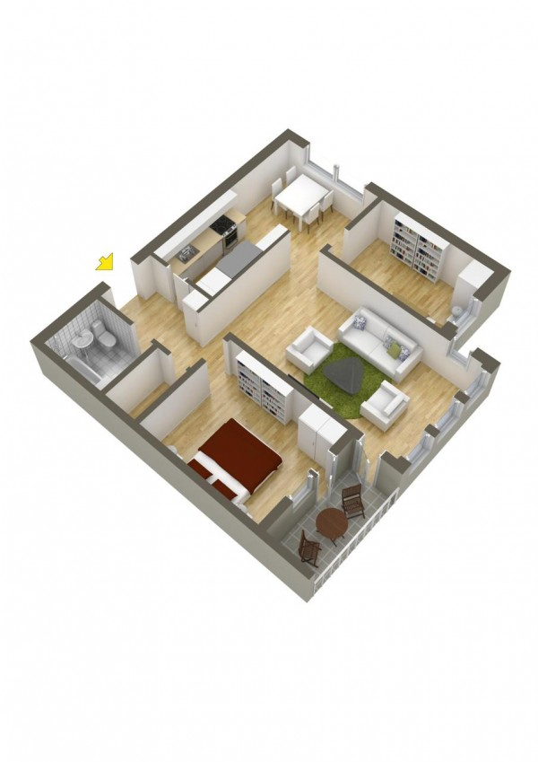 40 more 2 bedroom home floor plans for Opposite of floor