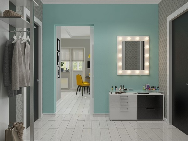 4 small beautiful apartments under 50 square meters - Four small apartments undersquare meters ...