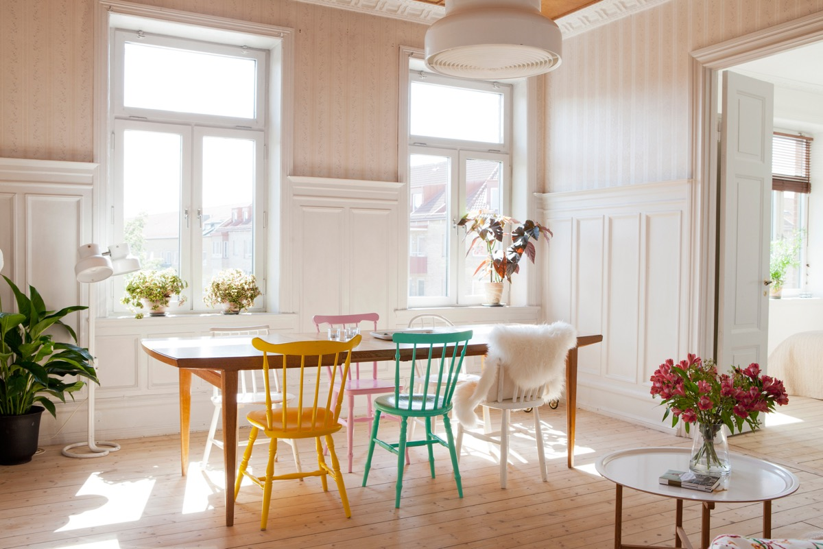 Wainscoting ideas interior design ideas for Table inspiration scandinave