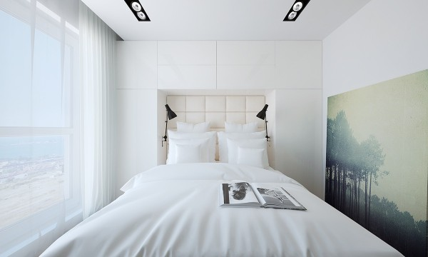 5 spaces with comfortable neutral designs - Comfortable beds for small spaces minimalist ...