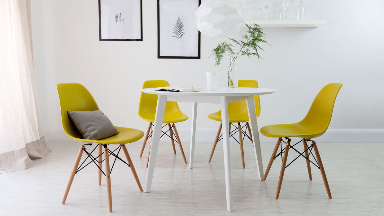 Yellow dining room ideas interior design ideas for Yellow dining room ideas