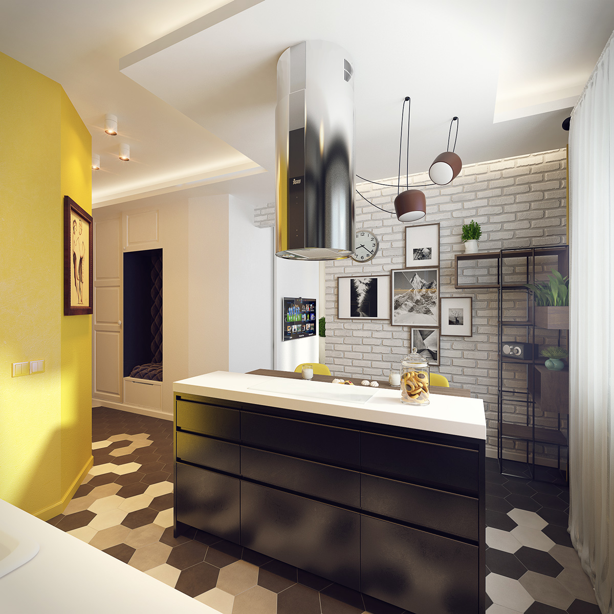 6 Beautiful Home Designs Under 30 Square Meters With: 4 Cute And Stylish Spaces Under 50 Square Meters