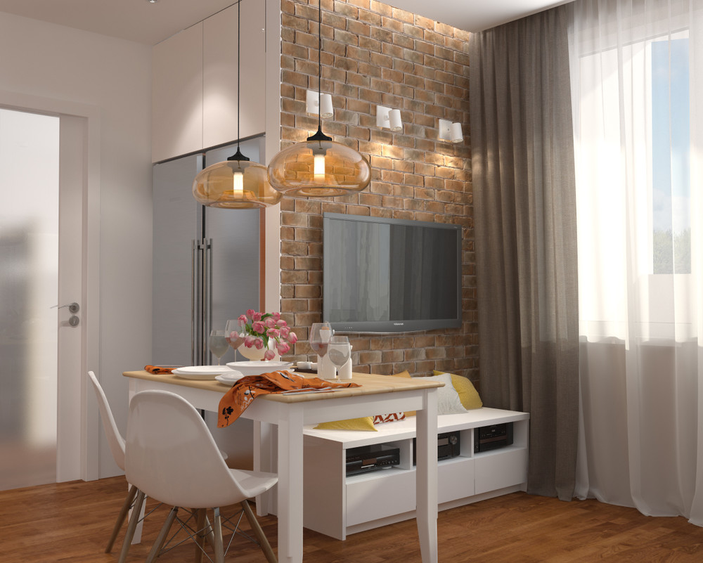 House design for 42 square meters - 3