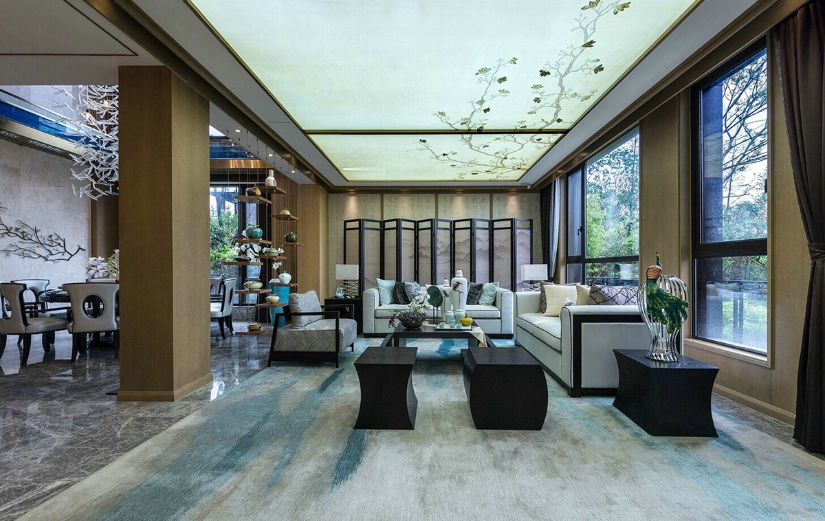 An Opulent Chinese Mansion Straight Out Of The 80s