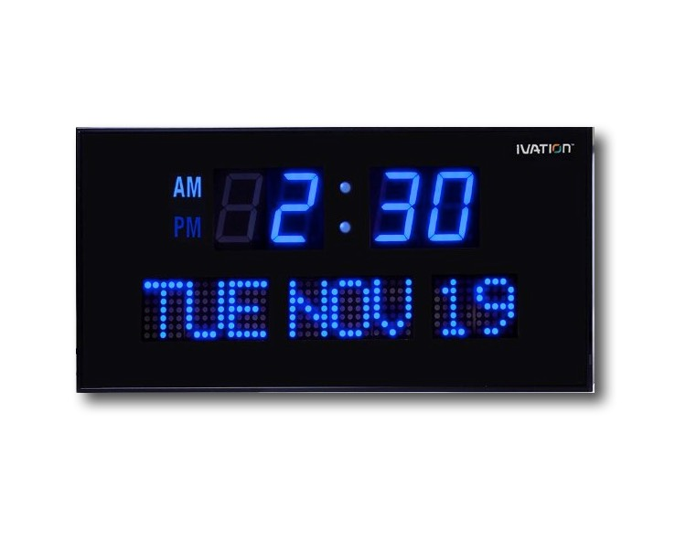 50 cool and unique wall clocks you can buy right now Cool digital wall clock