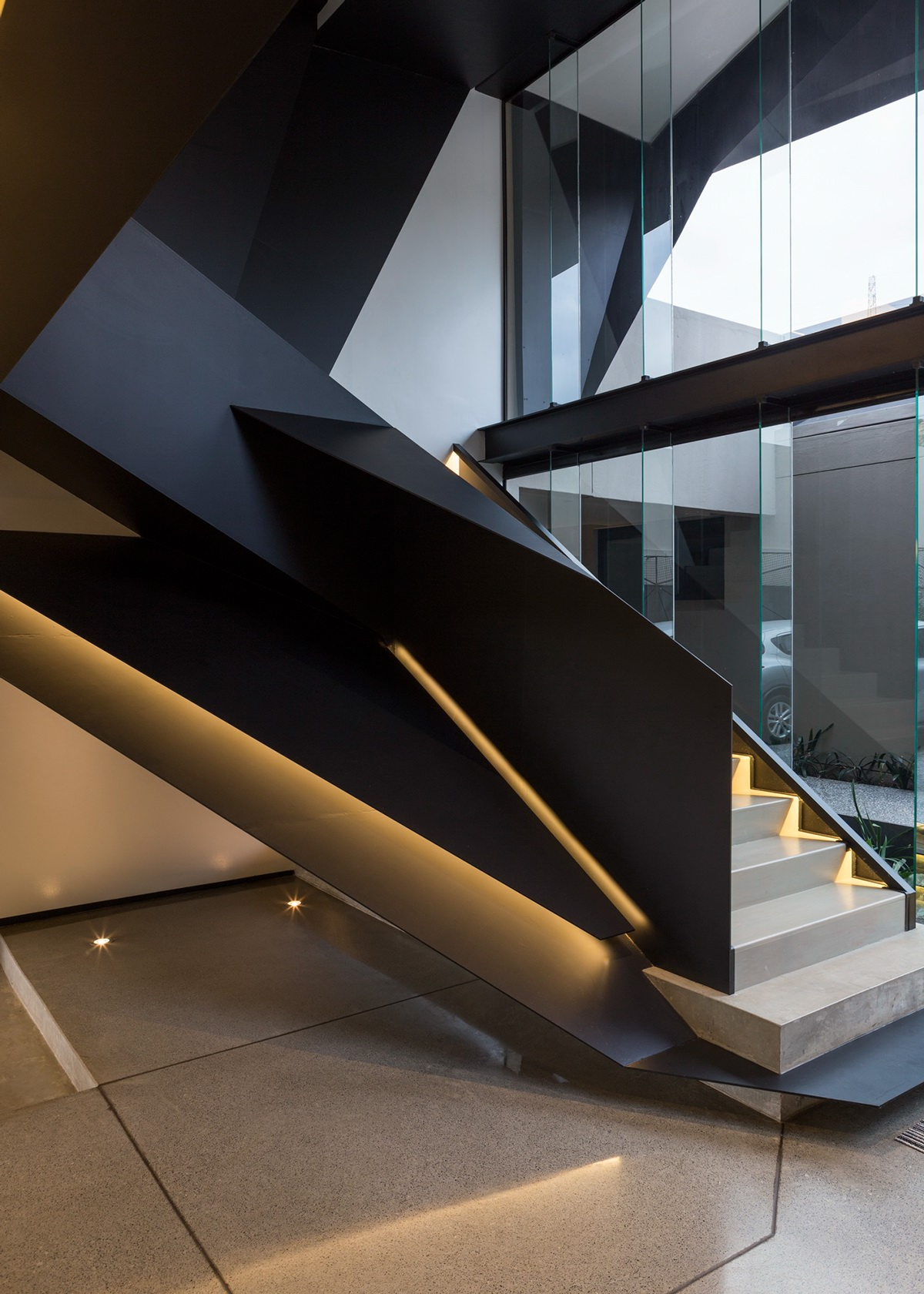 Elegant modern staircase interior design ideas - Classy images of cool staircase design ...