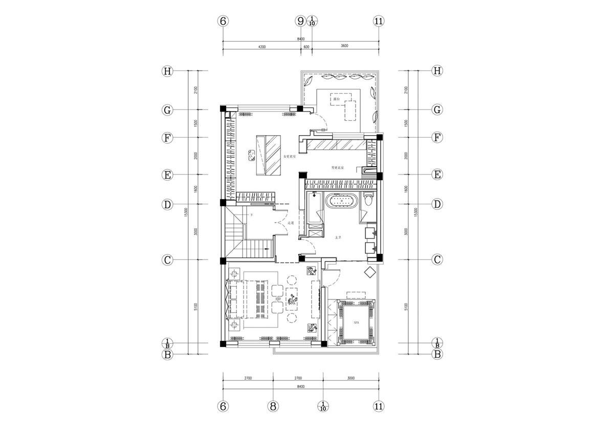 Floor Layout - An opulent chinese mansion straight out of the 80s